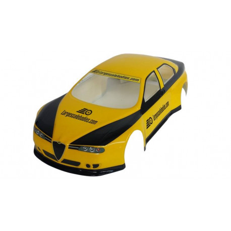 Body Alfa Romeo 156 ETCC 2014 - EFRA Legal - unpainted - 1,0 mm transparent Lexan