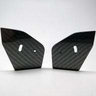 CCRSR Carbon Endplates Touring Car Rear Wing