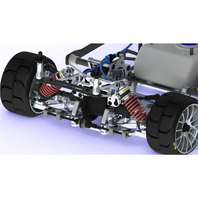GENIUS XR4 PRO TC Rolling Chassis (2018) - MA Action Racing