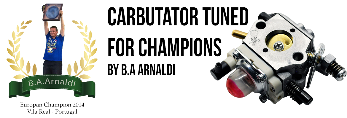 Carburator tuned for champions by B.A Arnaldi